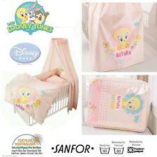 Baby Bett Ausstattung Disney Tweety Wäsche Decke Kissen Bezug Himmel Nestchen