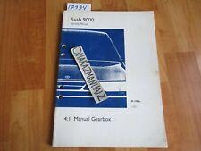 1994 Saab 9000 Manual Gearbox Service Manual