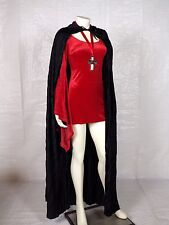 Adult Sexy Immortal Vampiress Plush Complete Halloween Costume Cosplay S/M