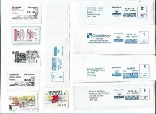 World  ATM - Automatic machine labels type postage stamps x 24 (Batch 3)