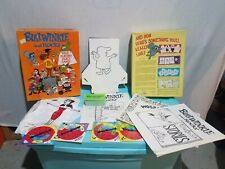 Rocky And Bullwinkle Role Playing Party Game Preowned