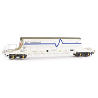 EFE Rail E87010 OO Gauge PBA Tiger Wagon TRL 11601 ECC International White