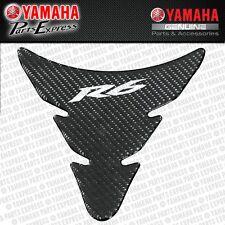 NEW 2009 - 2016 YAMAHA YZF R6 YZFR6 CARBON FIBER LOOK TANK PAD ABA-13S49-24-00