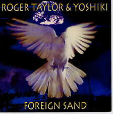 ROGER TAYLOR & YOSHIKI (QUEEN) -  Foreign sand - 7'' (45 tours) - Blue vinyl