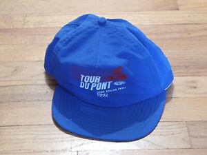 1992 Tour du Pont Cycling Trucker Ball Podium Cap Hat: New Blue