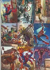 2017 Upper Deck Fleer Ultra Spider-Man 100 Card Base Set & Legacy Insert Bonus