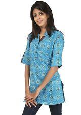 Rajrang Ladies Handmade Kurta Tunic, Sz. Md., Blue