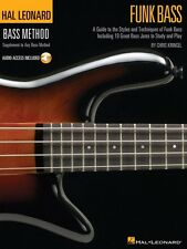 Funk Bass - A Guide to the Techniques and Philosophies of Funk Bass 000695792