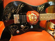 JAKE E LEE Red Dragon Cartel  ~ SIGNED Guitar Proof Documents ~ OZZY GUITARIST