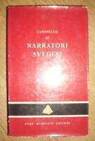 CAROSELLO DI NARRATORI SVEDESI - PIRAMIDE - ED:ALDO MARTELLO - ANNO:1961 (NA)