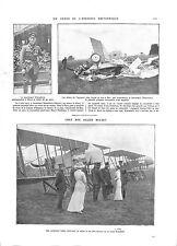 WWI Pilot As Aircraft Reginald Warneford Royal Naval Air Service A ILLUSTRATION