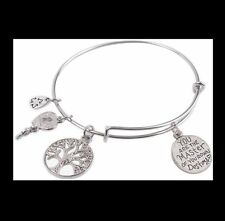 """NEW - """"YOU ARE THE MASTER OF YOUR OWN DESTINY"""" EXPANDABLE WIRE BANGLE BRACELET"""
