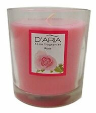 Colony Garden Rose Candles in Glass Holder Rose Scented Fragrance Glass