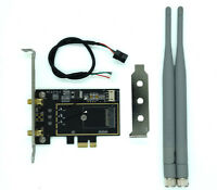 M.2/NGFF Wireless Card to PCI-e 1X Desktop WIFI WLAN CARD Adapter for 8260 9260