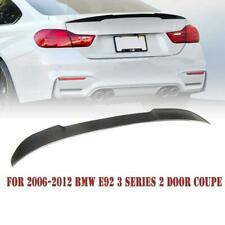 For 2007-2013 BMW E93 M3 2DR Coupe Carbon Fiber Trunk Spoiler Wing M4 Style