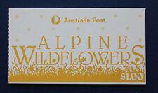 Australia (#996b) 1986 Alpine Flowers Mnh complete booklet