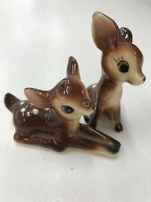 VINTAGE Kitsch Deer Bambi Salt and Pepper Shakers
