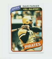 1980 Topps Set Break Dave Parker Baseball Card #310 - Pittsburgh Pirates HOF