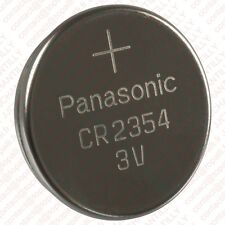 2x BATTERIE CR2354 PANASONIC FÜR POLAR CS600X CS600 CS500 CS400