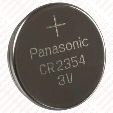 1x panasonic cr2354 Lithium 3v batterie
