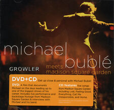 MICHAEL BUBLE - NEW YORK CONCERT - CD + DVD -  LIVE MUSIC SONG TOUR ALBUM