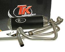 Auspuffanlage Turbo Kit X-Road 2-in-1 Hyosung GT N E3 NE R E3 RF Naked 125 4T N