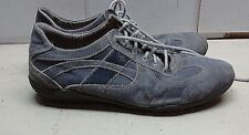 Vera Pelle Gray Leather Fashion Sneaker Lace Up Casual Driving Men Shoes 12M 45