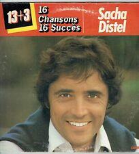 """33T Sacha DISTEL Disque Vinyle LP 12"""" 16 CHANSONS 16 SUCCES - CARRERE 63009 RARE"""