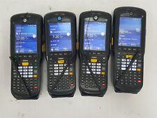 Lot of 4 Zebra Motorola MC9590-KA0DAB00100 Mobile Computer Wireless Barcode Scan