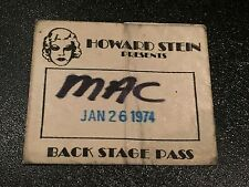 Kiss RARE backstage pass Jan 1974 Academy of Music Gene Simmons Paul Stanley