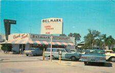 Belmark Restaurant roadside St Petersburg Florida Hettesheimer Postcard 4374
