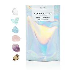 ALCHEMY OF U - 6pc Face Crystal Chakra set, Glow / Detox Facial Crystal Grid