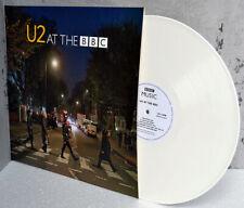 "U2 at the BBC 12"" LP WHITE VINYL Record eXPERIENCE iNNOCENCE Promo Tour Edition"