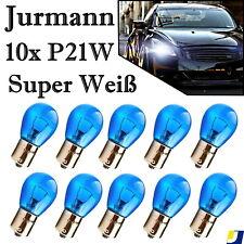 10x Jurmann Trade P21W 12V BA15s Original Super Weiß Ersatz Halogen Auto Lampe
