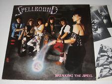 Spellbound - Breaking The Spell (Sonet Records Heavy Metal Vinyl LP-1984)