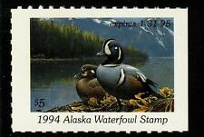 Alaska 1994 State Waterfowl Hunting Permit Stamp American Wigeon #10