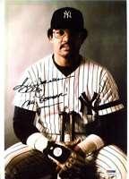 Reggie Jackson PSA DNA Coa Hand Signed 8x13 Photo Autograph