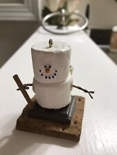 S'mores Xmas Ornament Hiker with pinecones Vintage 2001