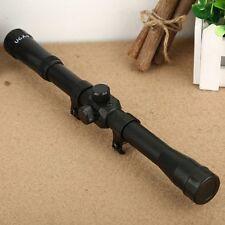"""1.06""""D 4X20 Air Rifle Gun Scope Telescopic Scope Sniper Telescope for 11mm Rail"""