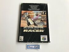 Notice - Star Wars Episode 1 Racer - Nintendo 64 N64 - PAL NEU6