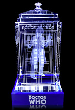 Officially Licensed Doctor Who Crystal TARDIS 4th Doctor (Tom Baker)