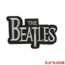 The Beatles Patch Aufbügler Aufnäher Patches Deko Bügelbild Rock Pop Patch NEU