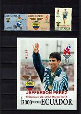 Briefmarken Olympische Spiele Ecuador postfrisch