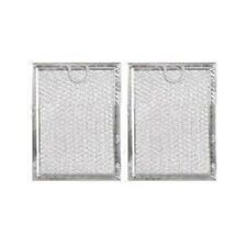 (2 PACK) GE AP3883320 FITS MICROWAVE ALUMINUM MESH GREASE FILTER REPLACEMENT