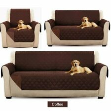 Pet Sofa Cover Quilted Couch Covers Lounge Protector Slipcovers 1/2/3 Seater