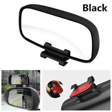 Black Car Blind Spot Snap Way Parking Multi-Purpose Auxiliary Side Rear Mirrors