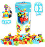 Children DIY Creative Game Kids Bricks Building Blocks Educational Colour Toys