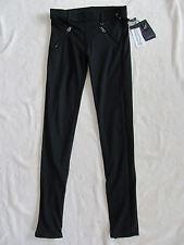 True Religion Runway Pull-on Leggings-Multi Zippers-RFLKT-Black-Size XS-NWT $179