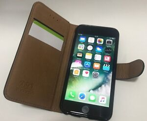 Premium Luxury 100 % Leather Wallet Book Case Cover For IPHONE 6/6S/6+/6S+