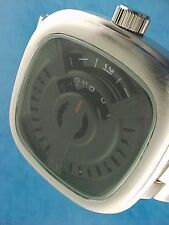 60s 70s unusual futuristic space age rare old style modern disc disk watch 99